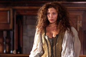 Alex Kingston as TV's Moll Flanders. If you enjoyed that, you'll love Five Guns Blazing.
